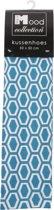 In The Mood Sierkussenhoes Honingraat - 50x50 cm - AquaIvoor