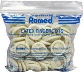 Romed Vingercondooms latex Extra Large 100 stuks 2 verpakkingen