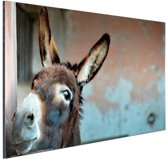 FotoCadeau.nl - Ezel Aluminium 90x60 cm - Foto print op Aluminium (metaal wanddecoratie)