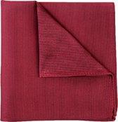 Michaelis pocket square - bordeaux rode pochet