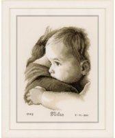 "borduurpakket PN0158510 ""knuffel"", geboorte"