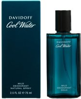 Davidoff Cool Water Mild Deodorant spray - 75 ml