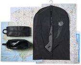 Kleding Hoes - Kostuumhoes / Pakhoes - Rits Beschermhoes Voor Kleding / Pak - Zwart