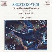 Shostakovich: String Quartets Vol 5 / eder Quartet