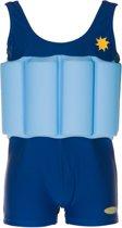 Beverly Kids UV drijfpakje Kinderen Blue Boy - Blauw - Maat 98