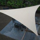 Schaduwdoek - 3x6 Meter | Driehoek - 3x 3,6 m - Creme