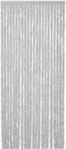 Deur-Vliegengordijnen Kattenstaart 120x240cm Grijs /Wit gemeleerd