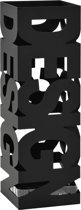 Parapluhouder ParapluBak Design Staal Zwart 15,5 x 15,5 x 48,5 cm