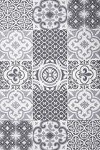 Laagpolig Design Vloerkleed Diamond 80x150 cm - Grijs