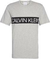 Calvin Klein - Heren T-Shirt Grijs - XL