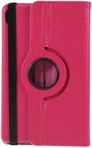 Shop4 - Huawei MediaPad M6 8.4 Hoes - Rotatie Cover Lychee Roze