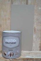 Rustiek Krijtverf 0,5 liter Taupe