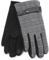Handschoenen met Ruit - Heren - Grijs - Dielay