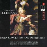 SCENE  Telemann: Horn Concertos, Overtures / Neue Dusseldorf