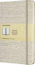 Moleskine Limited Edition-Notitieboek-Blend-19-Large-Gelineerd-Beige