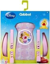 Qibbel Stylingset Voor Fietszitje Achter Disney Princess Roze Q326