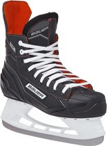 Bauer Ijshockeyschaatsen Ns Skate Zwart/rood Junior Maat 26