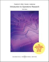 Introduction to Operations Research 10e ed
