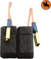 Koolborstelset voor Hitachi frees/zaag X 303 - 6,5x9x17mm