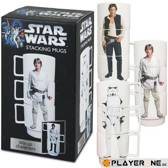 STAR WARS - Stacking Mugs with Charachter images (3pc) x1