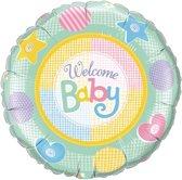 Welcome Baby Geboorteballon
