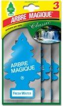 Arbre Magique luchtverfrisser Fresh Water Tris