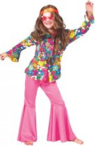 Hippie blouse voor kinderen 140