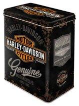 Nostalgic Art Bewaardoos 3D Harley Davidson