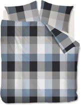 Beddinghouse Clarck - Dekbedovertrek - Lits-jumeaux - 240x200/220 cm + 2 kussenslopen 60x70 cm - Bluegrey