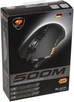 Cougar 500M gaming muis zwart