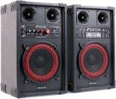 """Actieve speakerset - Fenton SPB-8 - 400W actieve speakerset 8"""" met o.a. Bluetooth - Ook ge"""