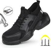 Safety Sneaker - Werkschoenen - Veiligheidsschoen - Stalen Neus - Anti Slip - Spijker Bestendig - Flexibel - Ademend - Licht Gewicht