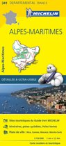 Alpes maritimes 11341 carte ' local ' ( France ) michelin kaart