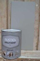 Rustiek Krijtverf 0,5 liter Mercury