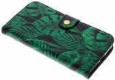Fabienne Chapot Monstera Leafs Booklet voor de iPhone Xs / X