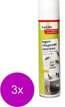 Luxan Vliegende Insecten Spray - Insectenbestrijding - 3 x 400 ml