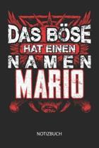 Das B se hat einen Namen - Mario - Notizbuch