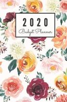 2020 Budget Planner: Monthly Undated Floral Expense Tracker