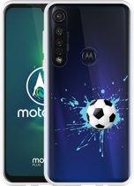 Motorola Moto G8 Plus Hoesje Soccer Ball