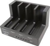 """Logilink USB 3.0 Quick Copy/Port for 4x 2,5""""/3,5"""" SATA HDD"""