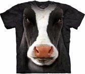 Koeien T-shirt zwart/wit voor volwassenen 40/52 (L)