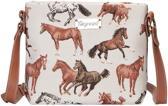 Signare Schoudertas Running Horse Paard Paarden