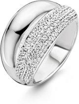 TI SENTO Milano Ring 12053ZI - Maat 60 (19 mm) - Gerhodineerd Sterling Zilver