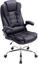 Clp Managerstoel - directiestoel THOR  bureaustoel - ergonomisch, belastbaar tot 150 kg - zwart