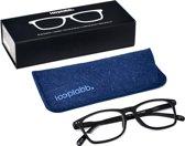 Looplabb. Legend Leesbril - Zwart - Sterkte: +2.50