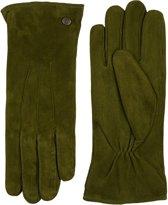 Laimböck Dames Handschoenen Boretto Olijf Maat 7