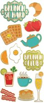 Paper House Stickers Brunch
