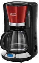Russell hobbs 24031-56 Colours Plus+ Koffiezetapparaat met glazen kan - Rood