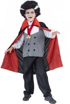 Halloweenvampierenpak voor jongens - Verkleedkleding - 116/122
