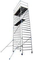 Alumexx ALX rolsteiger BS 1.35 x 2.50 - werkhoogte: 8,3 m